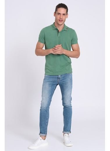 Lufian Polo Yaka Tişört Yeşil